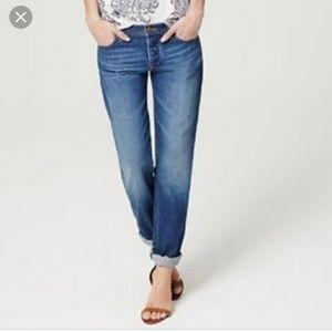 Loft Boyfriend Jeans